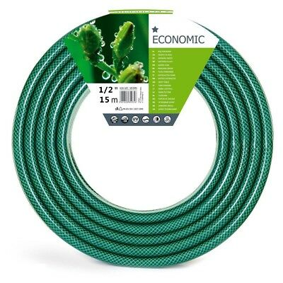 All Size Hose Pipe Garden 1M 15M 30M 50M Reel Hosepipe Reinforced Water Tough  • 15.99£