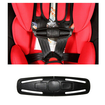 Child Kids Baby Car Safety Seat Strap Toddler Chest Harness Clip Safe Buckle Pad • 2.74£