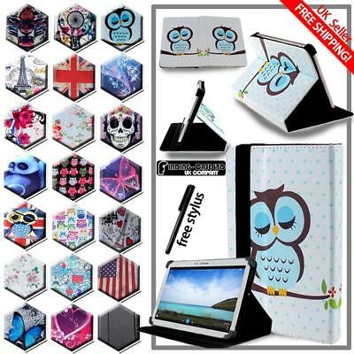 For Various Samsung Galaxy Tab 2/3/4 Tablet -Folio Stand Leather Cover Case +pen • 5.99£