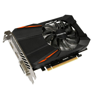$ CDN283.24 • Buy Gigabyte GV-N105TD5-4GD GeForce GTX 1050 Ti D5 4GB GDDR5 Graphics Card