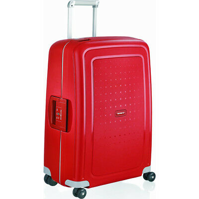 """View Details Samsonite S'Cure 30"""" Zipperless Spinner Luggage - Crimson Red - (64512-1235) • 139.00$"""
