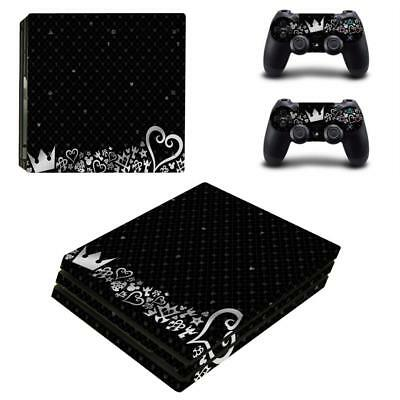 AU18.78 • Buy Anime Kingdom Hearts Vinyl Skin Decals Stickers For PS4 Pro Consoles Controllers