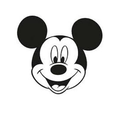 Mickey Mouse Disney Stickers Decal Vinyl Glass Wall Car Metal Plastic PC Laptop • 2.49£