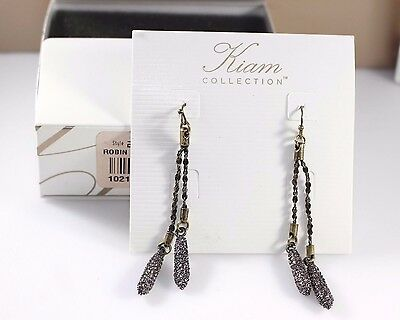$ CDN22.71 • Buy Lia Sophia Kiam Collection~ Robin  Earrings~~NIOB~RV 98