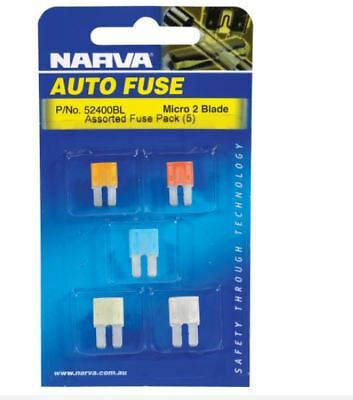 AU5 • Buy Narva 30 AMP GREEN STANDARD ATS BLADE FUSE Pack Of 5 52830BL