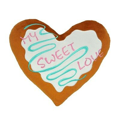Valentine's Pillow My Sweet Love Gifr For Beloved Heart Cake Exclusive Cusion • 9.38£