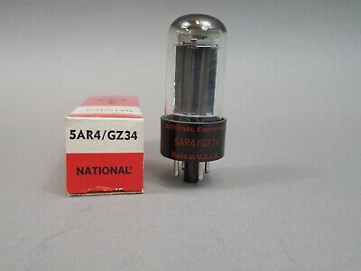 $ CDN93.81 • Buy National Electronics 5AR4 GZ34 Rectifier Tube With Box NOS USSR