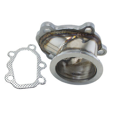 $ CDN59.14 • Buy For GT25 GT28 T25 T28 Turbo Down Pipe 5 Bolt To 2.5  63mm V Band Flange Adapter