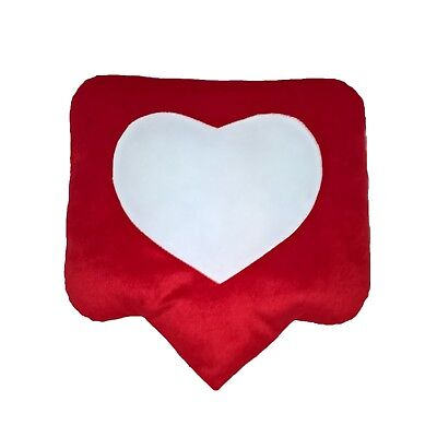 Decorative Pillow Like Valentine's Gift For Your Beloved Red Cusion Exlusive • 13.72£