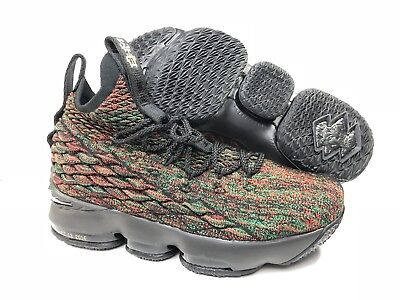 4759afd38798 Nike Lebron XV Kids Youth Size 7Y BHM Women s 8.5 Black History Month  943762-900