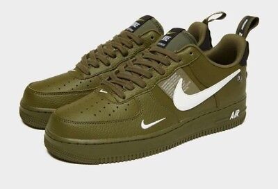 NIKE AIR FORCE verde