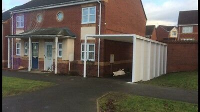 £1950 • Buy Carport Lean To 7000x2600 **FULLY FITTED **