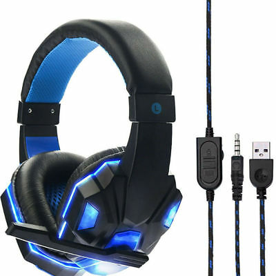 AU29 • Buy Gaming Headset With Mic For Ps4 Xbox Nintendo Switch PC Fornite Game  AU