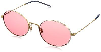 33b85a31c0fb2 Ray Ban RB3594-9093C8-53 Beat Oval Sunglasses Gold-Tone Red Classic Lenses