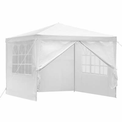 AU58.74 • Buy Instahut Gazebo 3x3m Outdoor Marquee Side Wall Party Wedding Tent Camping White