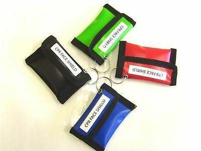 £4.50 • Buy Wipe Down DURA CPR Key Ring Pouches With CPR Mouth To Mouth Face Shield