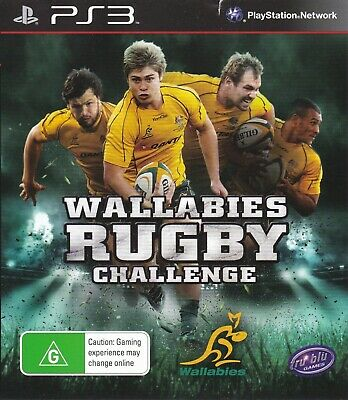 AU7.95 • Buy Wallabies Rugby Challenge Playstation 3 Ps3 Game