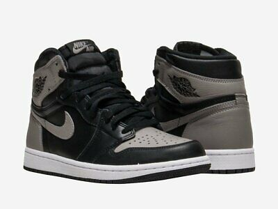 0f29c52f5b9b Nike Air Jordan 1 Retro HIGH OG TODDLER BT Shadow Black AQ2665 013 Size 3C