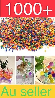 AU2.99 • Buy 1000+ Orbeez Mixed Colours Crystal Water Plant Beads Bio Hydro Gel Ball Garden