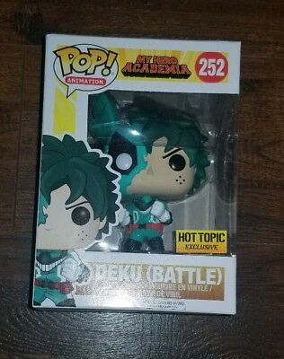 $29.99 • Buy Funko Pop New Battle Deku Hot Topic My Hero Academia Exclusive