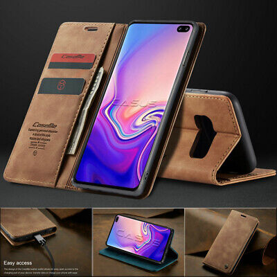 $ CDN13.86 • Buy For Samsung Galaxy S20 Ultra/S10/S9/S8+ Plus Magnetic Cover Leather Wallet Case