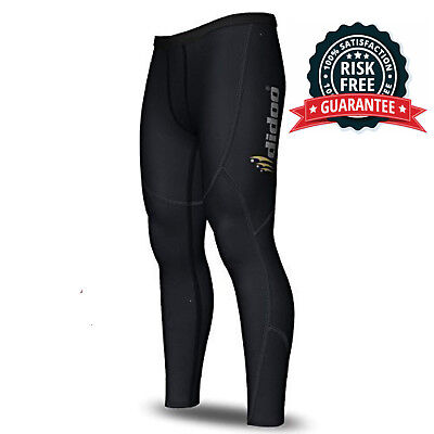 £34.25 • Buy Mens Thermal Compression Base Layer Pants Running Skin Tight Cold Wear Leggings