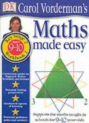 Maths Made Easy Book 2 Ages 9-10-Carol Vorderman • 2.20£
