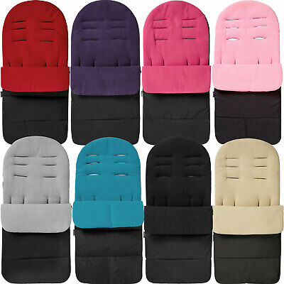 $15.80 • Buy Premium Pushchair Footmuff / Cosy Toes Compatible With Maclaren Fits All Styles