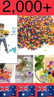 AU4.69 • Buy 2000pcs Mixed Orbeez Colours Crystal Water Plant Beads Bio Hydro Gel Ball Party