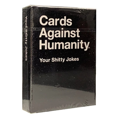 AU15.95 • Buy Cards Against Humanity Your Shitty Jokes Expansion NEW