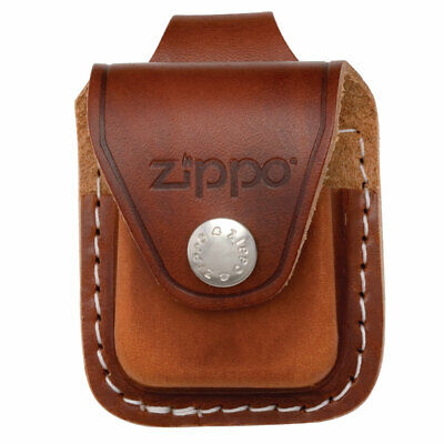 Zippo Lighter Pouch With Loop Brown Leather (LPLB) • 11.46$