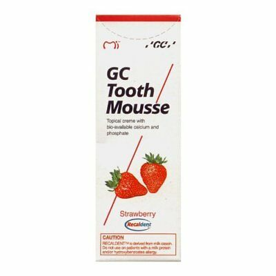 AU59.70 • Buy GC Tooth Mousse (Strawberry) 40 Gm (Free Shipping Worldwide) New Original