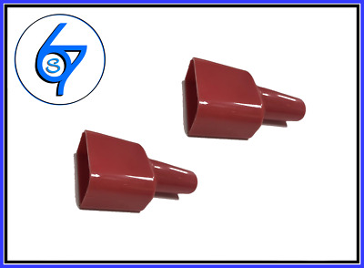 AU5.50 • Buy 2 X Waterproof 50A Anderson Plug Dust Cable Sleeve Sheath Covers Red