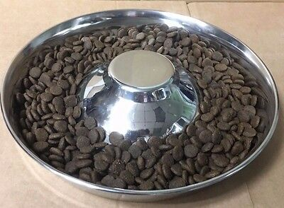 Puppy Weaning Bowl Feeding Saucer Whelping Bowl Weaning Litter Of Puppies 28cm • 13.99£