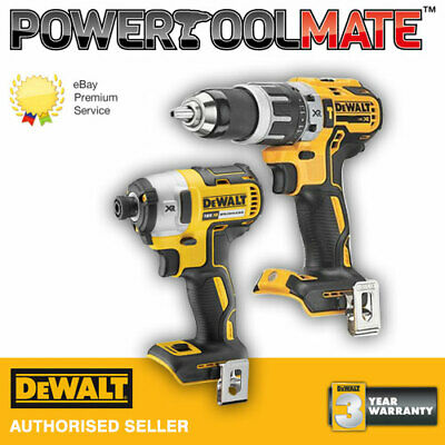 £149.99 • Buy Dewalt DCF887N 18V Brushless Impact Driver With DCD796N Combi Drill Twin Pack