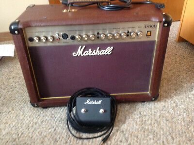 $ CDN495 • Buy Marshall AS50D Acoustic Amplifier With Reverb/chorus Pedal