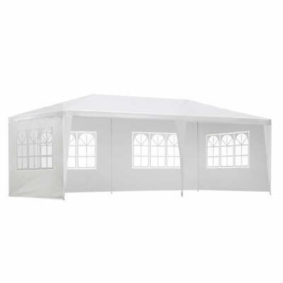 AU90.33 • Buy Instahut Gazebo 3x6m Outdoor Marquee Side Wall Party Wedding Tent Camping White