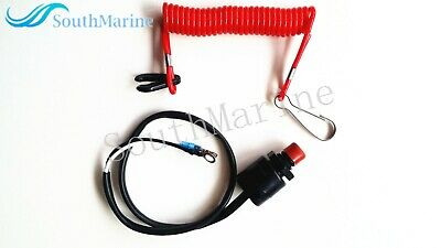 AU19.35 • Buy Boat Motor Kill Stop Switch & Safety Tether Lanyard For Yamaha/Tohatsu Outboard