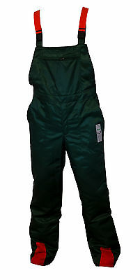 £57.75 • Buy Bib & Brace Forestry Chainsaw Protection Trousers 32  Waist