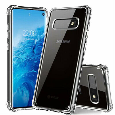 $ CDN3.99 • Buy For Samsung Galaxy S10 Plus S10E Shockproof Bumper Silicone Clear TPU Case Cover