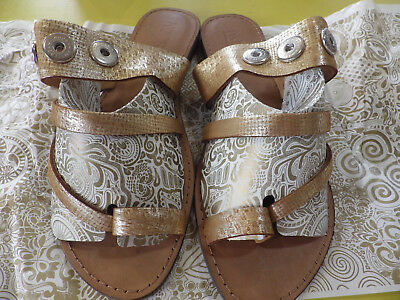 AU139 • Buy NOOSA AMSTERDAM Lumus Shimmer Ladies Sandals 41 (10) And 42 (11) Takes 3 Chunks