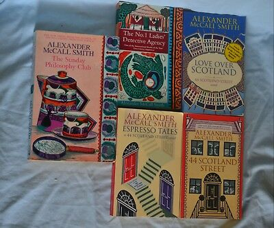 AU30 • Buy 5 X Alexander McCall Smith  Softcovers.....!