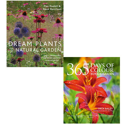 £24.99 • Buy Dream Plants For The Natural Garden, 365 Days Of Colour 2 Books Collection Set