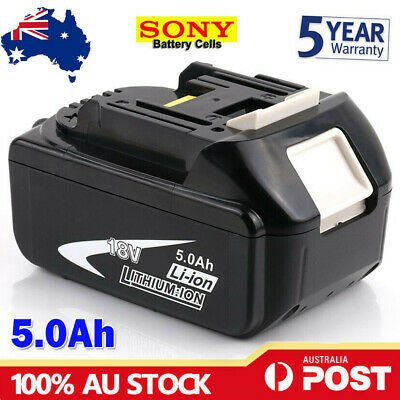 AU39.99 • Buy NEW 18V 5.0AH LXT Battery For Makita BL1830 BL1840 BL1850 Li-Ion Cordless Tools