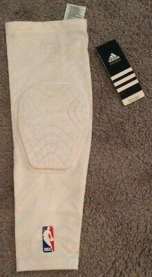 85d37bb1971b2 NWT Adidas Techfit Men s Basketball Padded Compression Arm Elbow Sleeve -  White • 12.99