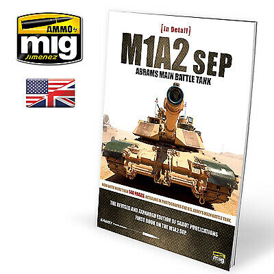 $32.20 • Buy Ammo By Mig - M1A2SEP Abrams Main Battle Tank In Detail # MIG-5950