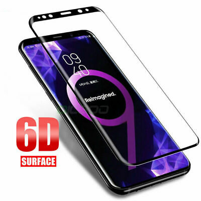 $ CDN2.18 • Buy 6D Film Tempered Glass Screen Protector For Samsung Galaxy Note 9 S9 S8 Plus AG