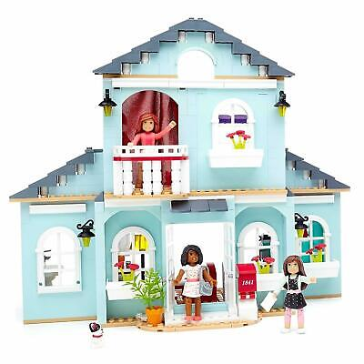 View Details Mega Bloks American Girl Grace's 2-in-1 Buildable Play Home House Construx CHOP • 39.00$