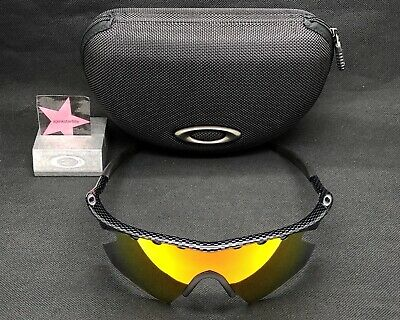 76417e84e9c Oakley M-Frame Carbon Fiber W  Fire Iridium Heater Authenic Rare Custom •  299.99