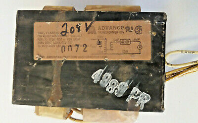 $19.99 • Buy Advance 71A5510 CW Autotransformer 208V 60Hz Ballast ONLY For 175W M57/H39 Lamp